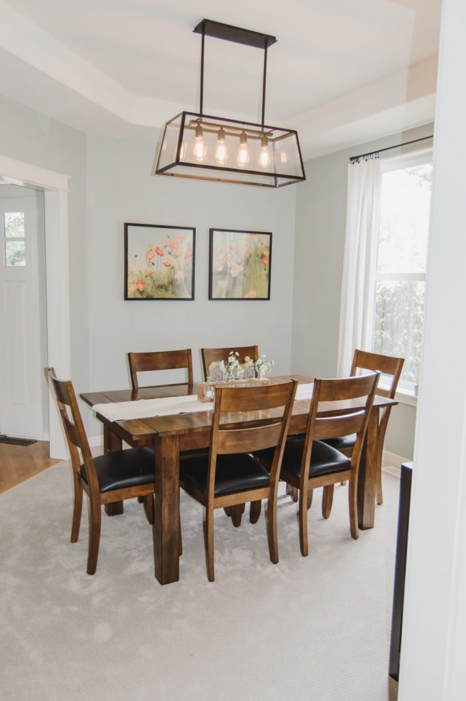 Dining Room makeover - done
