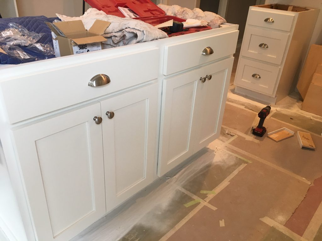 kitchen cabinets white dove paint.