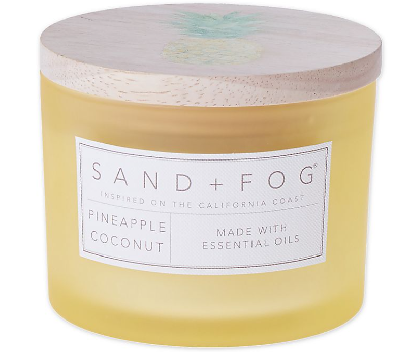 sand and fog pineapple coconut candle