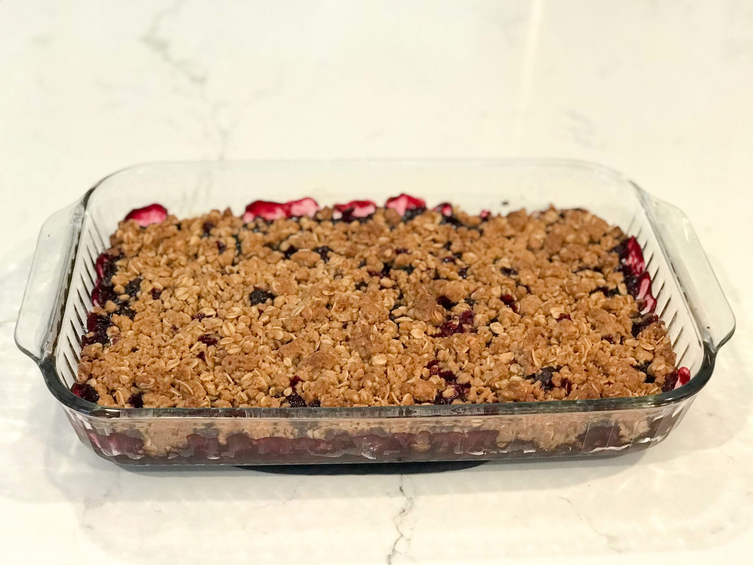 Mixed Berry Crumble Crisp