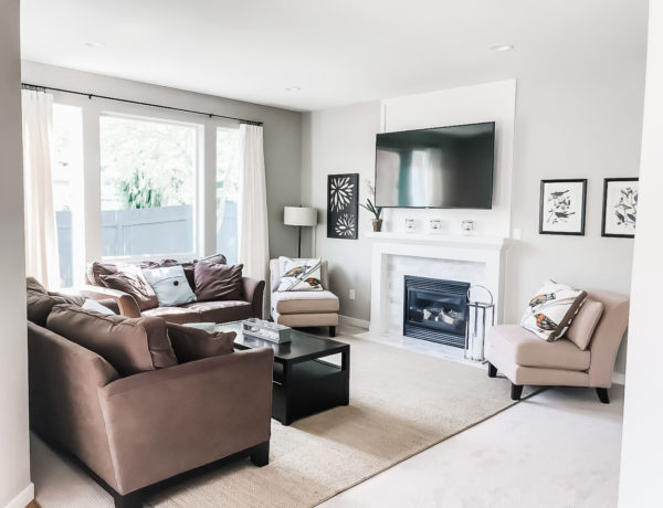 Living Room House Makeover