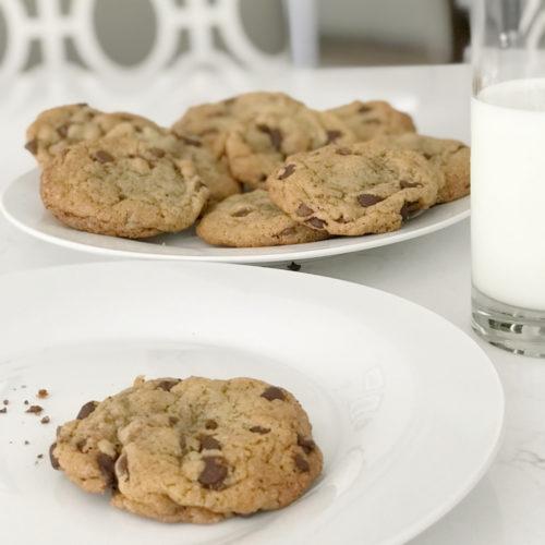 chocolate chip cookies godiva chocolate chips