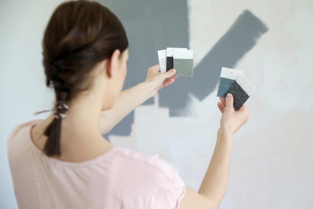 deciding paint colors, choosing paint colors, paint color swatches, paint choices