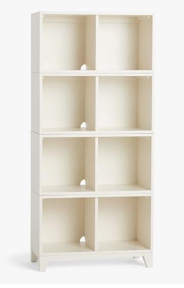 pb teen hampton cubby bookcase