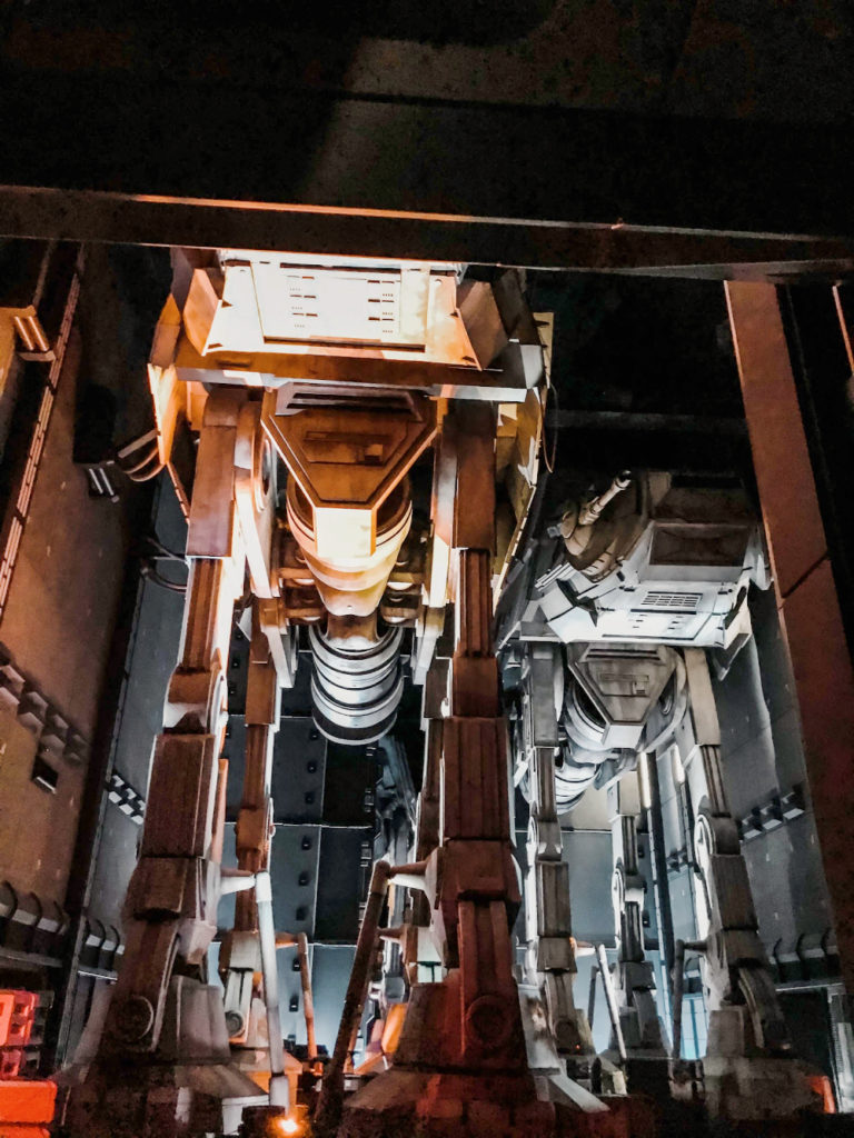 Rise of the Resistance Galaxy's Edge Star Wars land ride at Disneyland