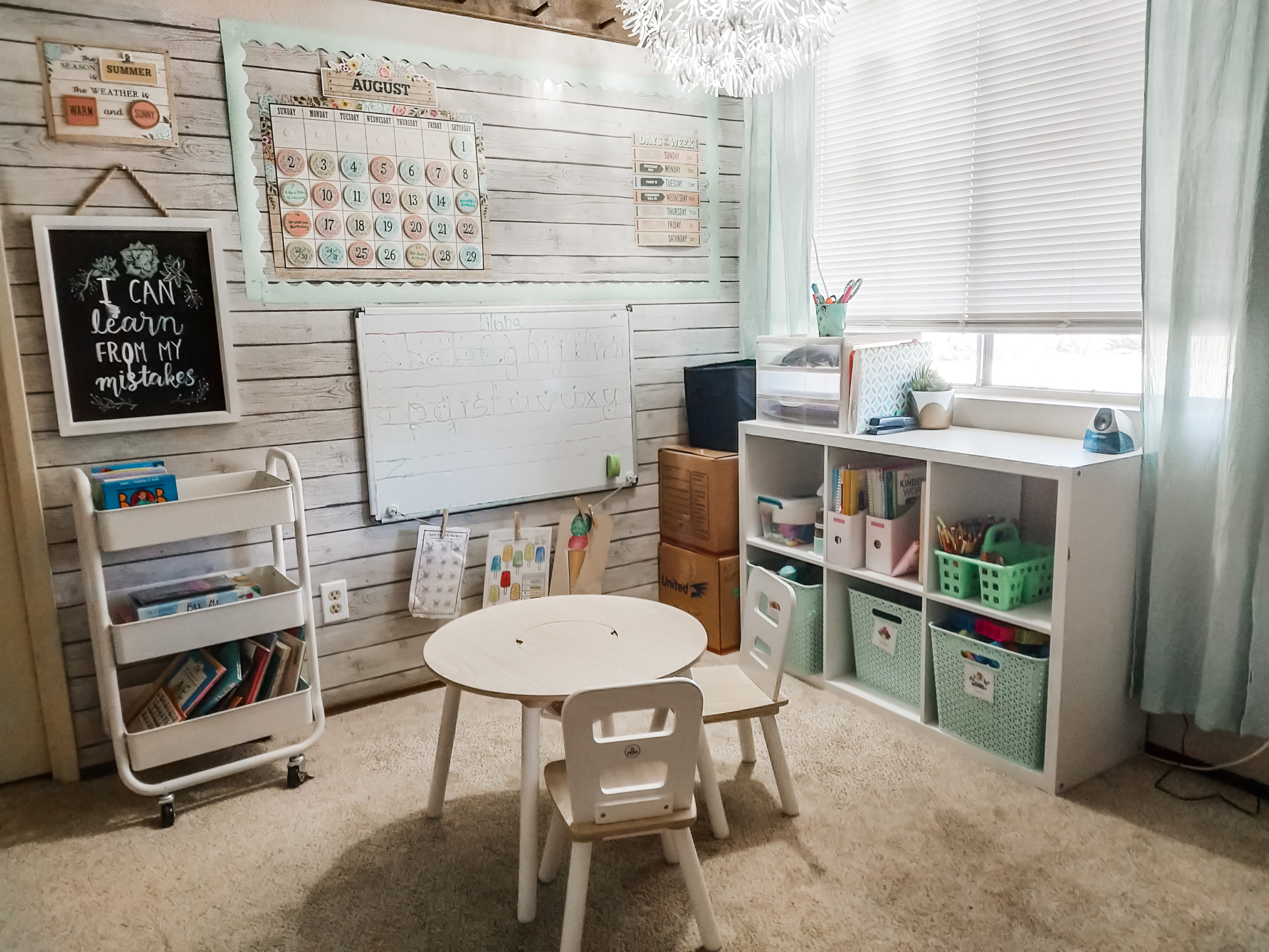 setting up a home classroom
