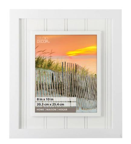 michaels white beadboard wall frame