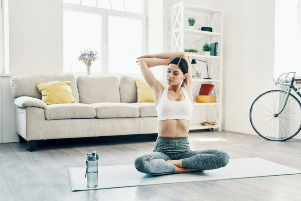 workout from home, exercise from home, home workout