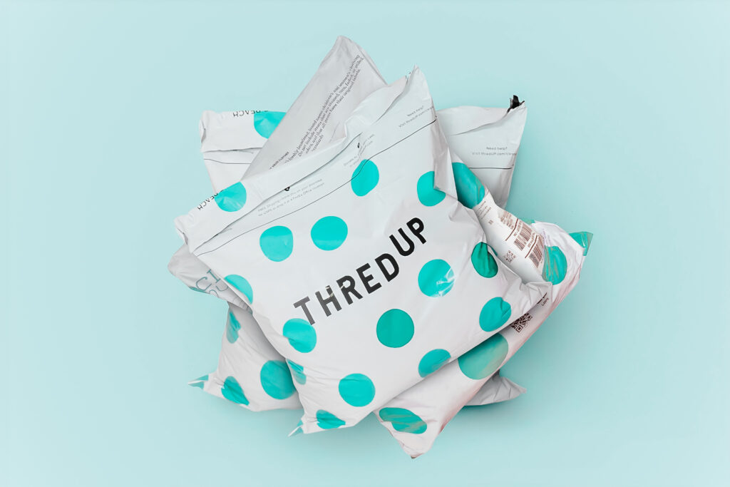 ThredUp Packages, Thread Up Packages, consignment store online, shopping online, thrift store finds, new wardrobe.