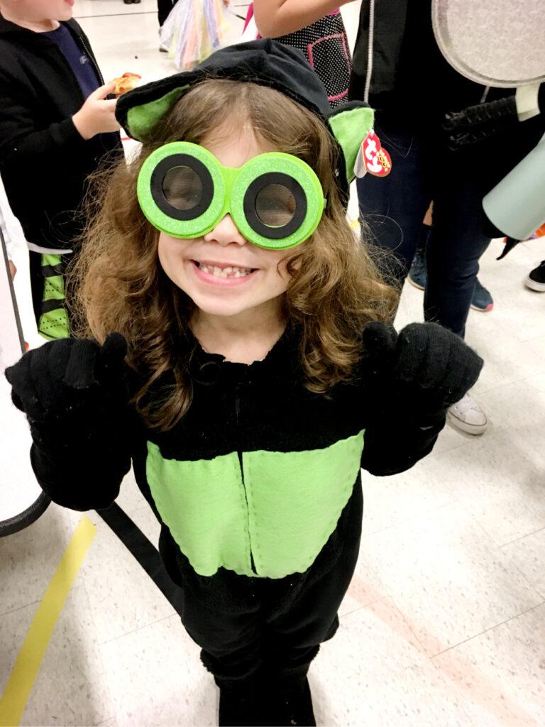 beanie boo cat halloween costume, beanie baby halloween costume, ty beanie boo costume, black cat green halloween costume.