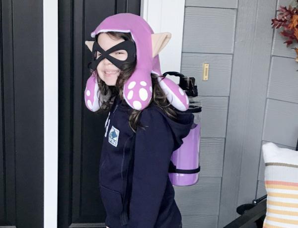 splatoon girl costume