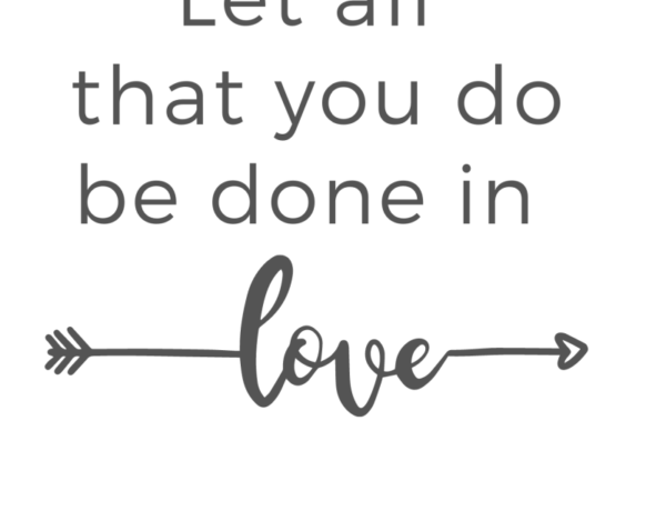 love quote printable free sign