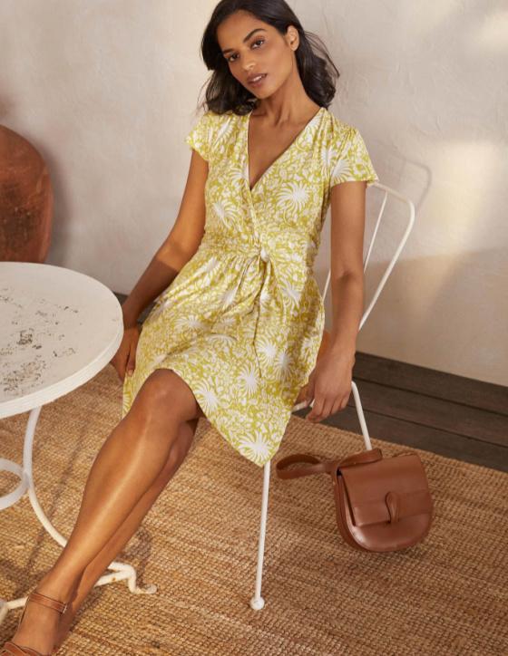 boden evangeline dress chartreuse summer dress vacation dress